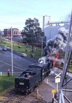 Melbourne is a city of phantom railways. There are those that were built and then removed, those that were built and then altered and . Australia Day, Victoria Australia, Melbourne Australia, Diesel, Brunswick Street, Train Service, Train Pictures, Melbourne Victoria, St Kilda