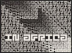 cover for change and continuity in Africa by Jurriaan Schrofer (1971)