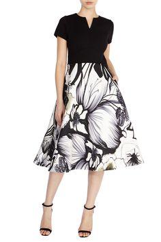 LAZIO PRINT ISABELLA DRESS