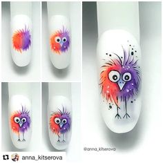 Best Picture For Makeup Art eyeliner For Your Taste You are looking for something, and it is going to tell … Animal Nail Designs, Animal Nail Art, Nail Art Designs, Nail Art Hacks, Nail Art Diy, Cool Nail Art, Stylish Nails, Trendy Nails, Fancy Nails