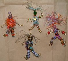 images of fabric art dolls - Google Search