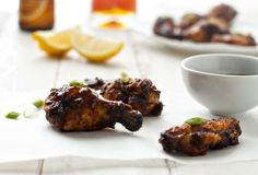 New Orleans Style Barbecue Chicken Wings from @Abu mnsar Saad Fanatic