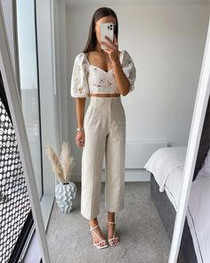 Mode Outfits, Cute Casual Outfits, Chic Outfits, Fashion Outfits, Stylish Summer Outfits, Spring Summer Fashion, Spring Outfits, Mode Shoes, Elegantes Outfit