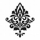 Image result for damask stencil printable free