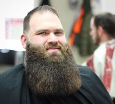 Long Shaped Up full Beard styles for macho