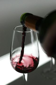 Nothing like a beautifully poured glass of wine...and Pintrest.....enjoy lady friends......enjoy!