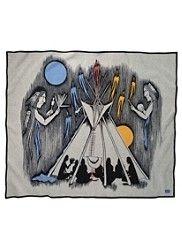 All Night Meeting Blanket. Pendelton woolen mills
