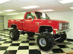 '87 Chevy Silverado (want the flooring too!)