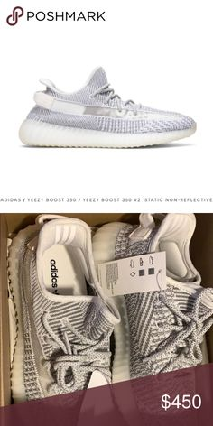298baeb8de1 Yeezy Boost 350 Static Non- Reflective Size 7.5  PRICE IS FIRM