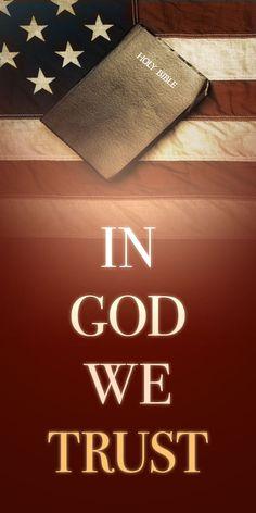 It is in God that WE trust!