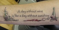 20 Booze Tattoos You Might Regret When You're Sober