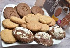 """""""Mindenmentes"""" kekszreceptek nem csak édesszájúaknak (gluténmentes, tejmentes, tojásmentes, hozzáadott cukortól mentes, szójamentes, vegán) – Éhezésmentes karcsúság Szafival Fitt, Cookies, Desserts, Crack Crackers, Postres, Biscuits, Deserts, Cookie Recipes, Dessert"""