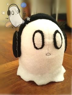 Napstablook Plush - Undertale by Blakmy on DeviantArt