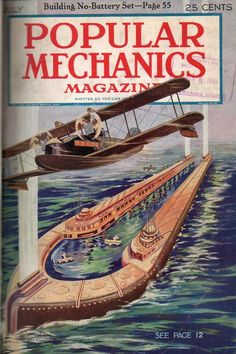 The Original Air Pirates - Popular Mechanics, January 1936 The wife and I were at one of the local antique stores today and along with t. Arte Sci Fi, Sci Fi Art, Science Magazine, Magazine Art, Magazine Covers, Science Fiction Art, Science Books, Steampunk, Sience Fiction