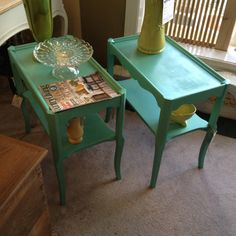 Would love these end tables. Biddy Craft