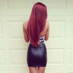 Want my hair red like this again.