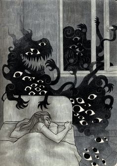 Zumart (Russia)  - Let Me In, 2011              Traditional Arts: Drawings http://zumart.deviantart.com/gallery/?offset=24#/art/Let-me-in-253398109?_sid=78187433