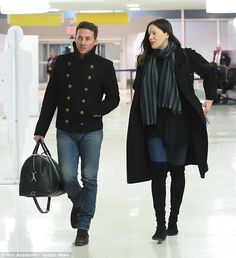 Liv Tyler and Dave Gardner cut casual figures in NYC