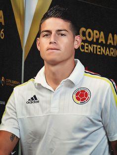James Copa America Centenario junio 2016
