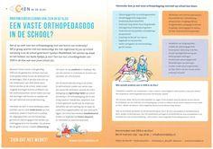 ZIEN in de Klas - De vaste orthopedagoog/ schoolbegeleider