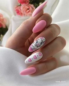 Pretty & easy gel nail designs to copy in trendy gel nails designs inspirations;