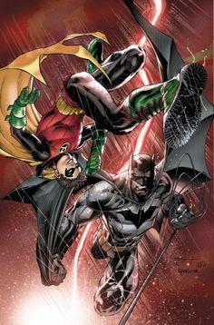 Batman and Robin Annual #3 cover by Ardian Syaf