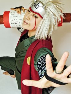 rui(六花瑠衣) Jiraiya Cosplay Photo - Cure WorldCosplay