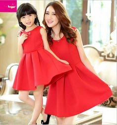 Anne Kız Aynı Kıyafet Kombinleri