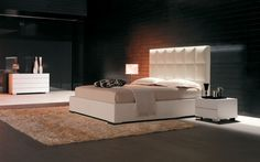 William Double Bed, Contemporary Bedroom Design at Cassoni.com
