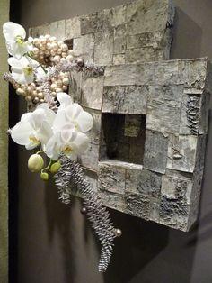 Art Floral, Ikebana, Fresco, Theme Noel, Horticulture, Christmas Home, Burlap Wreath, Shapes, Wreaths
