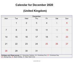 December 2020 UK calendar with holidays and festivals free download. #december #calendar2020 #printable #holidays #festivals #december2020 Festival Download, Quote Template, December Holidays, Calendar Wallpaper, Holiday Calendar, Calendar 2020, Holiday Festival, Cute Designs, Trip Planning