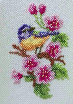 Cross Stitch Embroidery, Hand Embroidery, Beaded Flowers, Wool Yarn, Needlepoint, Cricut, Birds, Crafty, Sewing