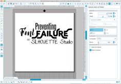 Preventing Font Failure in Silhouette Studio: How to Best Share Text Designs ~ Silhouette School