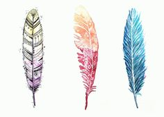 Federn malen: Schritt für Schritt Tutorial Painting a feather is not that difficult: I'm going to introduce you to three variations on how you can easily paint a feather. Painting Photos, Drawing Tutorial, Flower Art, Painting, Intricate Tattoo, Bible Art, Feather Painting, Happy Paintings, Eye Painting