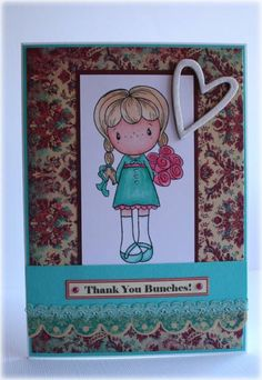 Thanks Bunches. by thistlecat - Cards and Paper Crafts at Splitcoaststampers