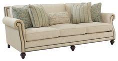 Upholstery | BernhardtW:  92-1/2 D:  44-1/2 H:  35
