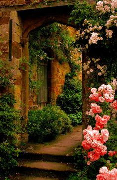 Garden with a past . . .