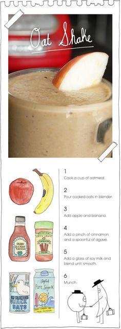 oat shake! it's p good. by <((>