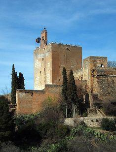 Torre de la Vela | La Alhambra | Granada | Andalucía | España.