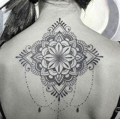 Mandala back piece by Alessia Selis