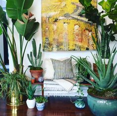 19 ways to turn your home into a bohemian retreat. Indoor Plant Wall, Indoor Plants Low Light, Interior And Exterior, Interior Design, Interior Plants, Sit Back And Relax, Plant Decor, Bohemian Decor, Bohemian Style