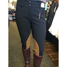 baba85ecdb Tailored Sportsman Lowrise Front Zip Trophy Hunter Breeches - Two tone – Willow  Equestrian - online tack store