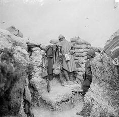 Etats des lieux en Champagne et en Argonne, août-septembre 1916. - ECPAD