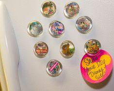 Show Your DIY Disney Side: Disney Parks Guide Map Magnets