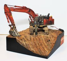 Model Truck Kits, Miniature Plants, Scrap Metal Art, Metal Toys, Military Diorama, Train Layouts, Model Building, Art Model, Diecast Models