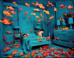 君の横顔 (naivz: Sandy Skoglund | Revenge of the Goldfish...)