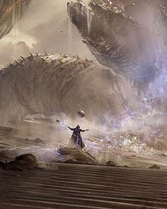 Incredible DUNE Concept Art, love the majesty and power of this work! #dune #frankherbert #arrakis