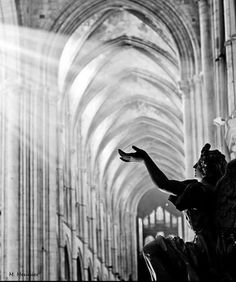 """Mathieu Meunier, """"Touching the Divine (Cathedral of Lisieux)"""""""