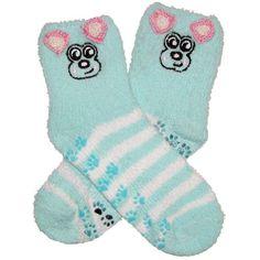 RSG Girls & Women's Animal Non Skid Slipper Socks (Teal Puppy) RSG http://www.amazon.com/dp/B00H30DI5O/ref=cm_sw_r_pi_dp_hshcwb1JTMZ50