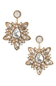 Swooning over these dazzling earrings that are sure to make a statement.